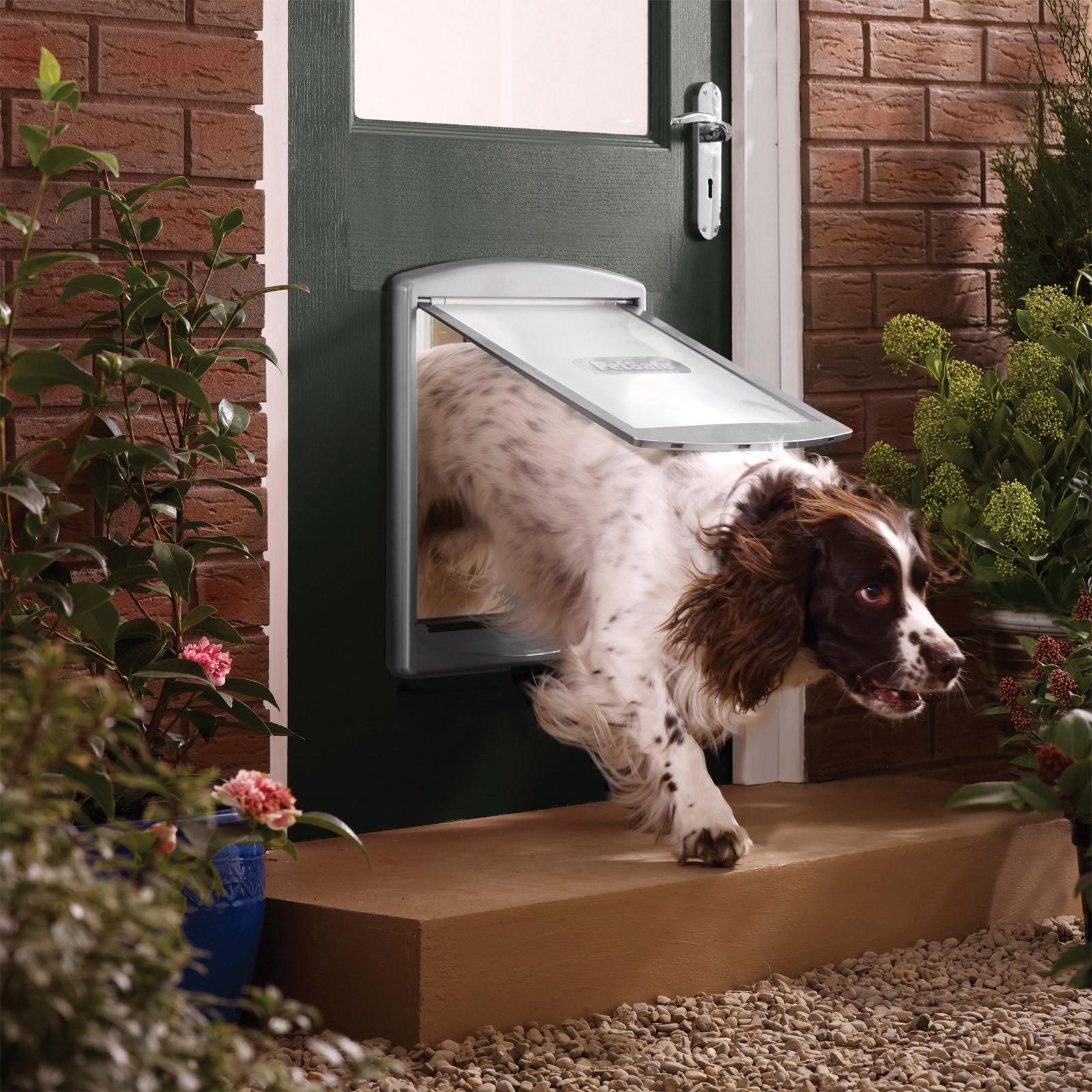 petsafe staywell hundeklappe typ 777 hundet r 2 wege f r. Black Bedroom Furniture Sets. Home Design Ideas