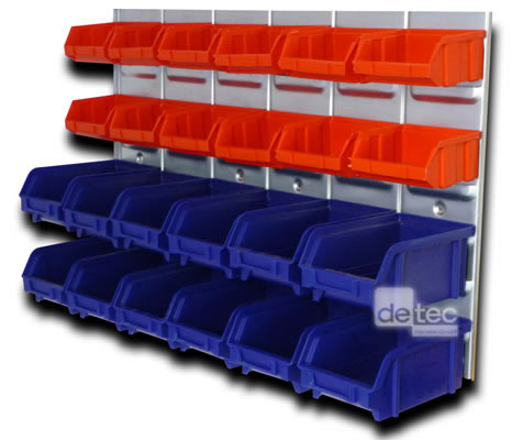 kleinteile sch ttenregal detec f 24 sch tten neu ebay. Black Bedroom Furniture Sets. Home Design Ideas
