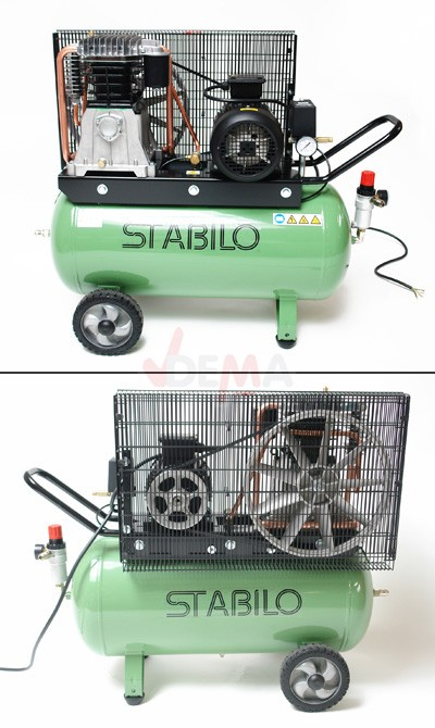 stabilo profi kompressor 11 bar 400v 700 11 100 druckluft druckluftkompressor ebay. Black Bedroom Furniture Sets. Home Design Ideas