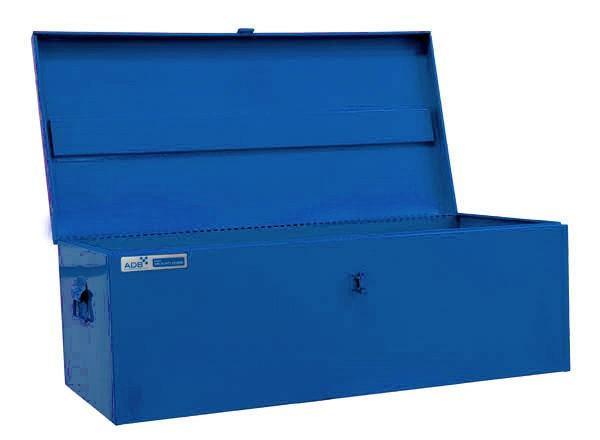 werkzeugkiste transportbox metall box kiste metallkiste werkzeugtruhe truhe neu ebay. Black Bedroom Furniture Sets. Home Design Ideas