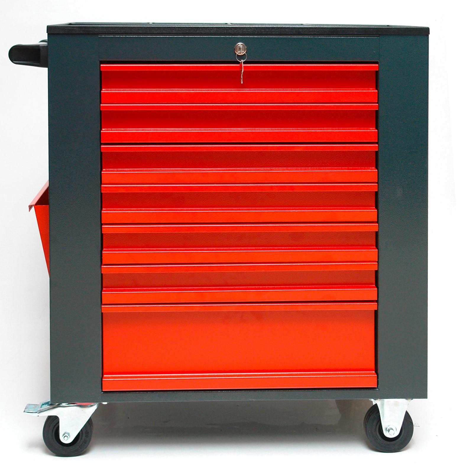 profi werkstattwagen werkzeugwagen 7 schubladen f r. Black Bedroom Furniture Sets. Home Design Ideas