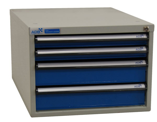adb schubladenbox 400 mm variable schubladeneinteilung zur. Black Bedroom Furniture Sets. Home Design Ideas