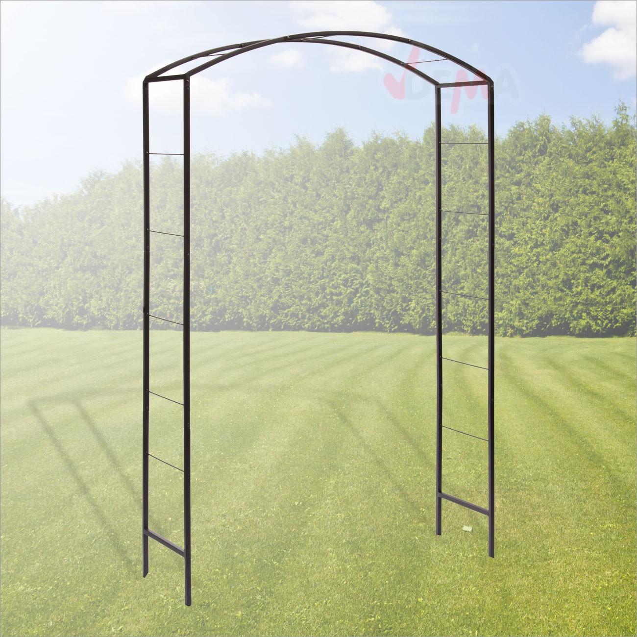 dema metall rosenbogen garda rankhilfe pergola spalier torbogen rankgitter ebay. Black Bedroom Furniture Sets. Home Design Ideas