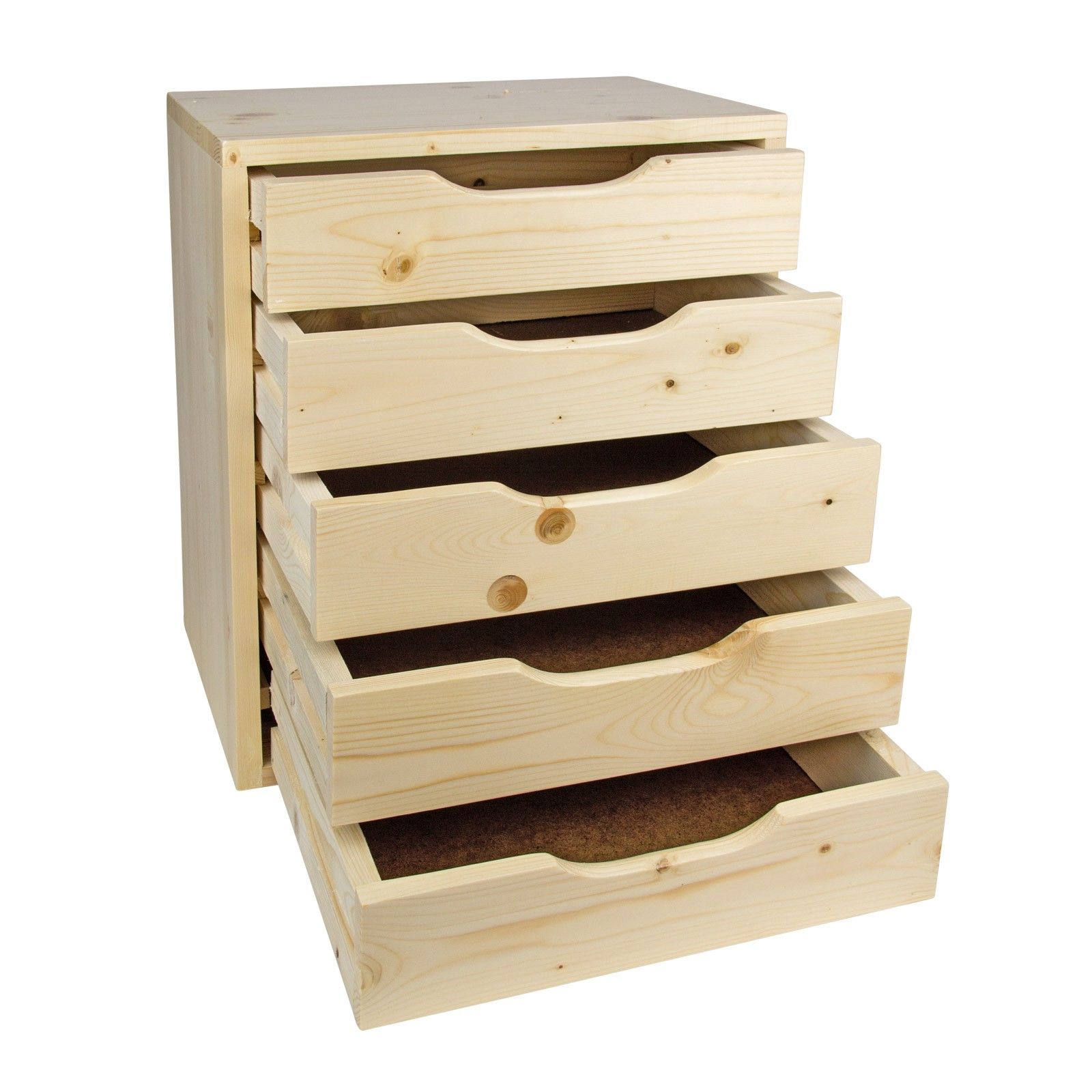 dema holz schubladenbox sb 3 4 5 6 schubladen. Black Bedroom Furniture Sets. Home Design Ideas