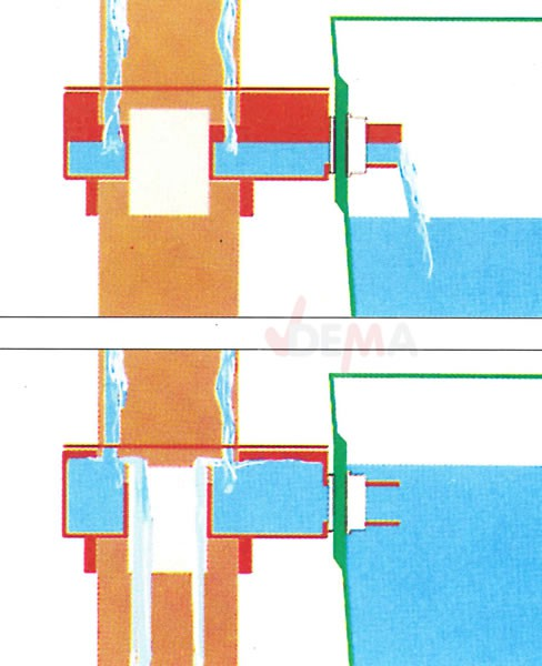 fallrohr regensammler f r regentonne. Black Bedroom Furniture Sets. Home Design Ideas