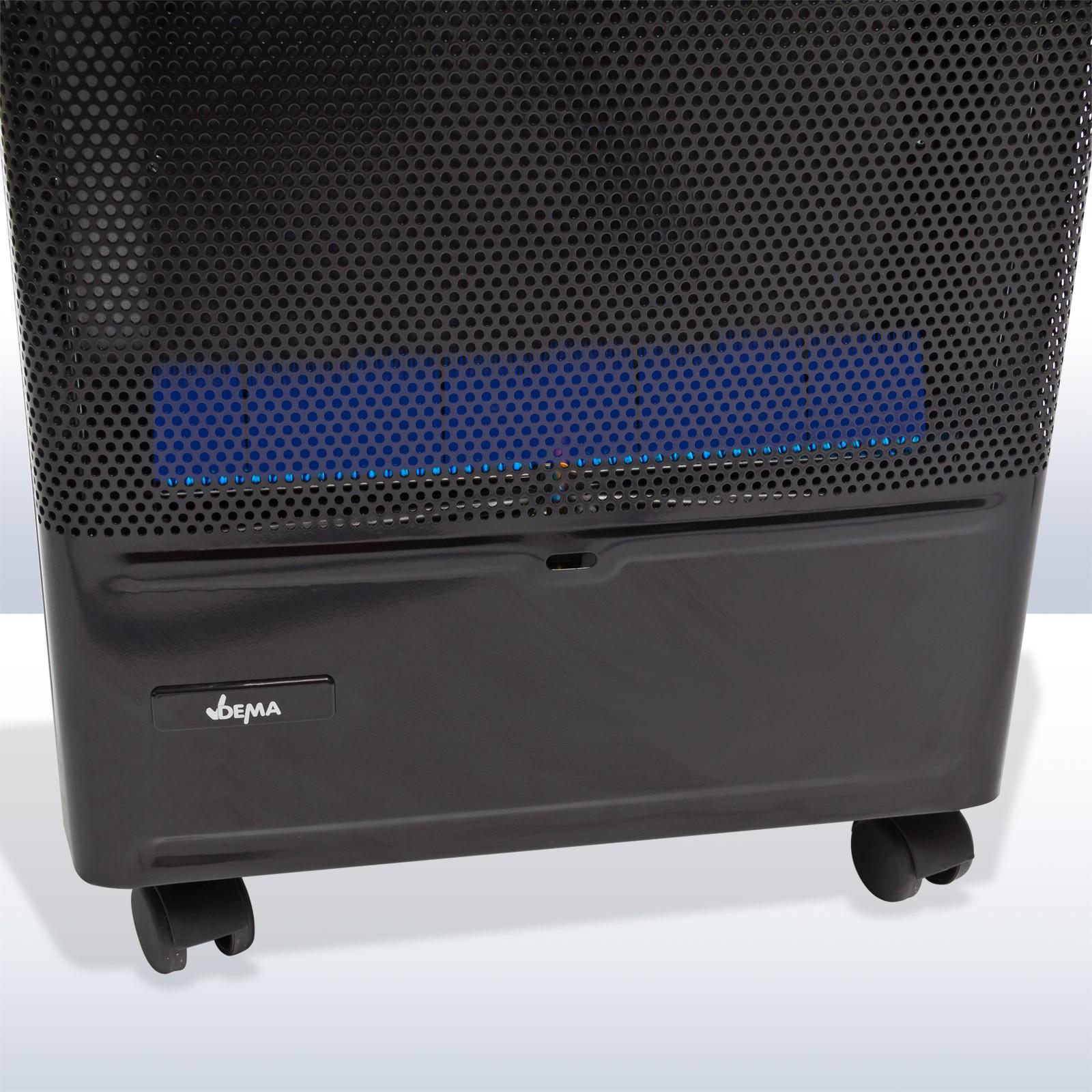 gas katalytofen blue flame blaue flamme 4200w gasofen. Black Bedroom Furniture Sets. Home Design Ideas