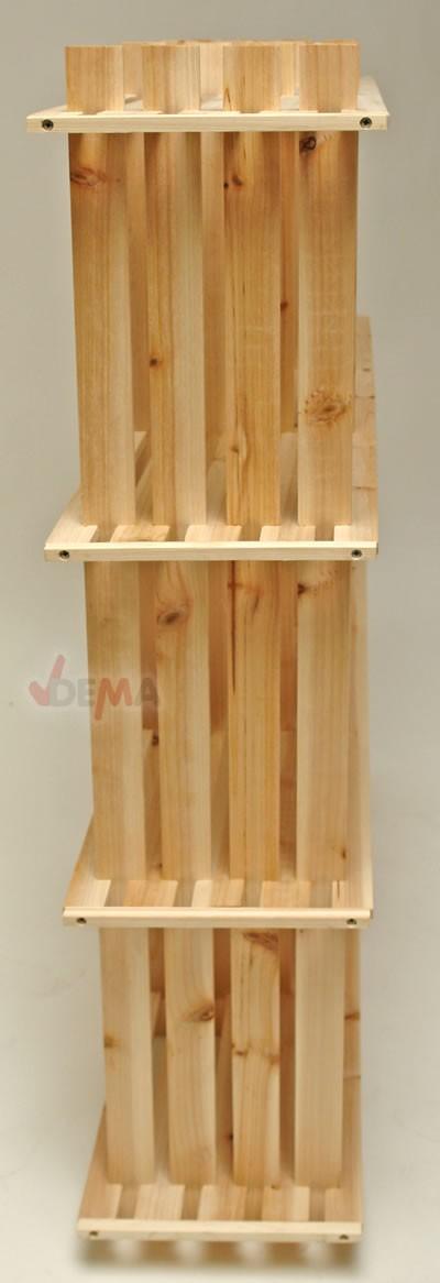 wohnregal raumteiler kinderzimmer keller regal holzregal 6 f cher 9 f cher ebay. Black Bedroom Furniture Sets. Home Design Ideas