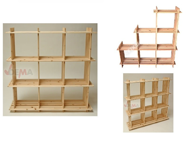 holzregal m bel einebinsenweisheit. Black Bedroom Furniture Sets. Home Design Ideas