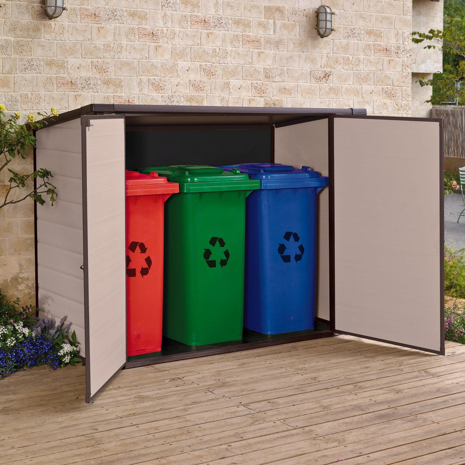 Imagens de #076729 Tepro Universalbox 200x90x150/134 cm für Fahrräder / Mülltonnen  1600x1600 px 3180 Box Banheiro 90 X 90